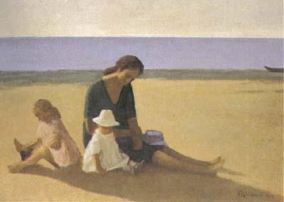 La pittura di renzo morandi renzo morandi il poeta del silenzio figure al mare 1966 olio su tela cm 60x70 thecheapjerseys Gallery